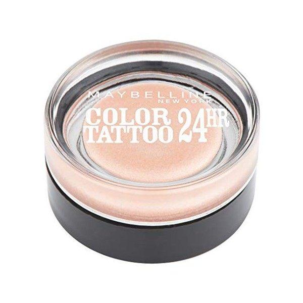 101 Breathless - Color Tattoo 24h Gel Ombre à Paupières en Crème Gemey Maybelline Maybelline 3,49€