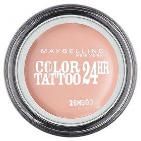91 Crème de Rose - Color Tattoo 24h Gel Ombre à Paupières en Crème Gemey Maybelline Gemey Maybelline 4,99€