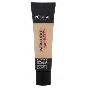 22 Radiant Beige - Fond de Teint Matifiant Infaillible 24H de L'Oréal Paris L'Oréal Paris 7,99€