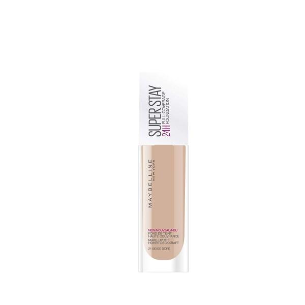 21 Golden Beige ( Nude ) - foundation SuperStay 24H from Maybelline New York Gemey Maybelline 6,99 €