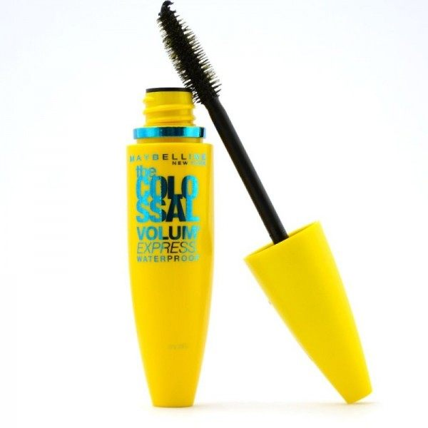 Mascara Waterproof The Colossal Volum' Express Go Noir Glamour Gemey Maybelline Maybelline 5,99€