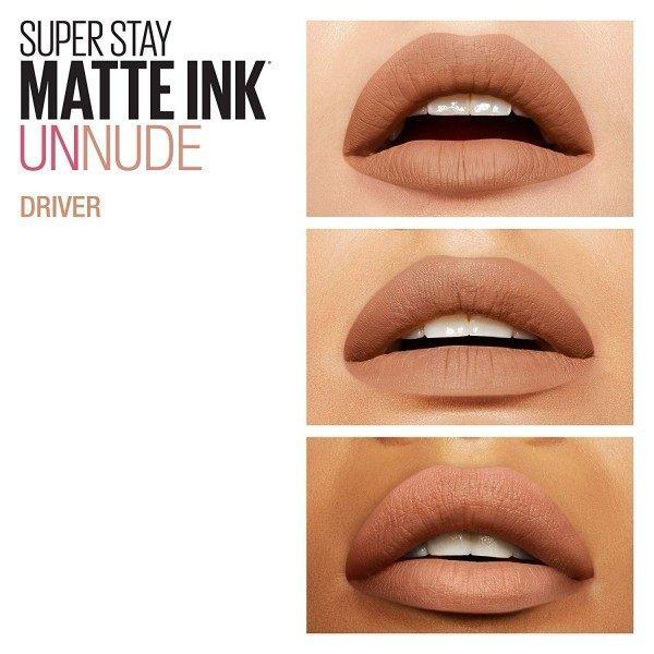 55 Driver (Speciale Editie  ) - Rode lipstick SuperStay MATTE INKT Maybelline New York