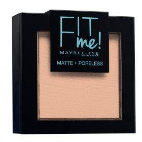 130 Buff Beige - Poudre ton sur ton FIT ME ! Matte + Poreless de Maybelline New york Gemey Maybelline 5,99€