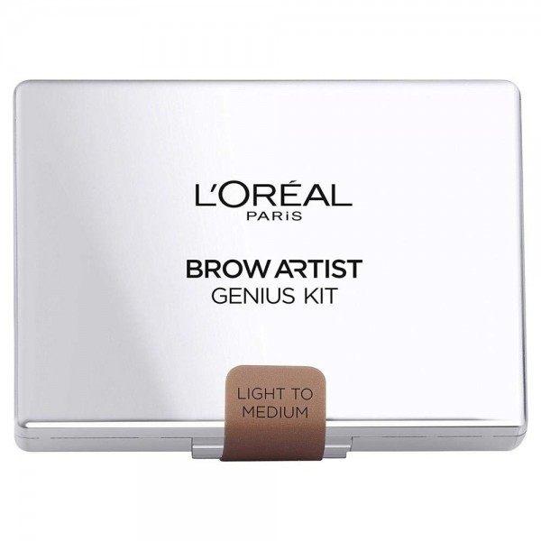 Light To Medium - Kit Sourcils Brow Artist Genius Kit, L'oréal Paris, L'oréal Paris, 6,99 €