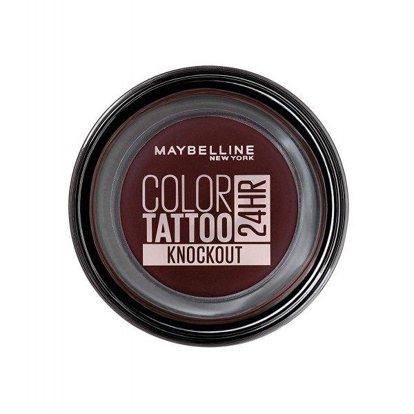 160 Knockout - Color Tattoo 24h Gel Ombre à Paupières en Crème de Gemey Maybelline Maybelline 4,99€