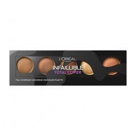 02 Médium à Foncé - Palette Correcteur / Anti-Cernes Infaillible TOTAL COVER de l'Oréal Paris L'Oréal 8,99€