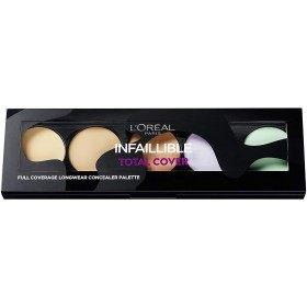 Palette Corrector / Concealer Infallible TOTAL COVER of l'oréal Paris, L'oréal 8,99 €