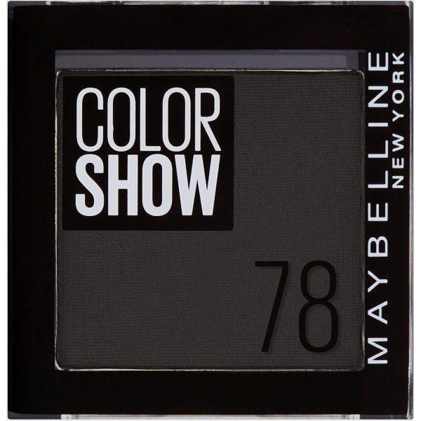 78 Black Velvet - Eyeshadow ColorShow Maybelline New York Maybelline 2,99 €