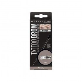 01 Taupe - Wax Eyebrows-Eyes Studio Tattoo Brow Pomade de Gemey Maybelline Maybelline 5,99 €