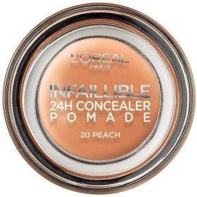 20 Pèche - Correcteur Crème Infaillible 24h de L'Oréal Paris L'Oréal 4,99€
