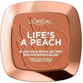 01 Peach Addict - Blush Doux Réveil de Teint LIFE'S PEACH de L'Oréal Paris L'Oréal 5,99€