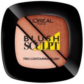 102 Naakt - Blush Trio Vorm de Contouren aangeven van l 'oréal Paris L' oréal 4,99 €