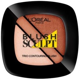 102 Nude - Blush Hirukotea Zizelkatzeko Contouring l 'oréal Paris, L' oréal 4,99 €