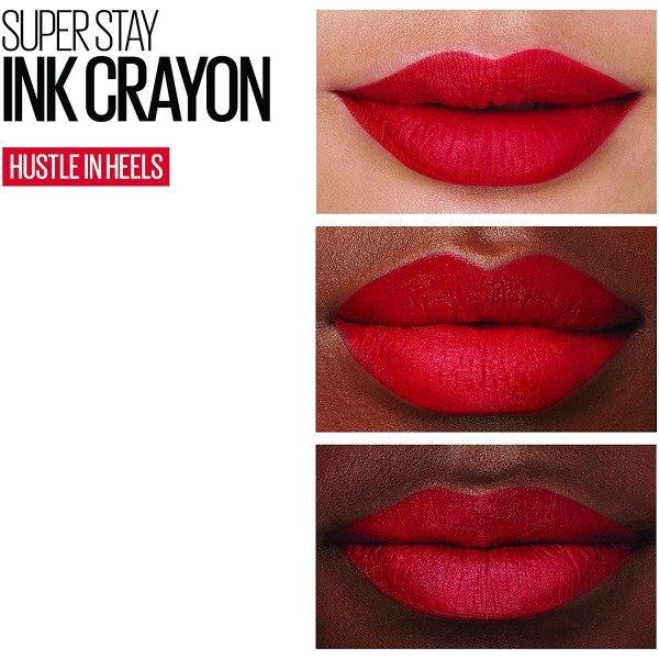 45 Hustle in Heels - Crayon Rouge à Lèvres Superstay Ink de Maybelline New York Maybelline 4,99€