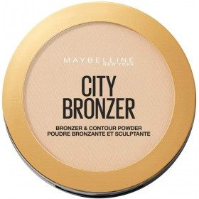 100-Light Cool - Powder Bronzer and Sculptante City Sunbathing of Gemey Maybelline Maybelline 6,99 €