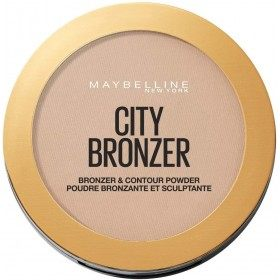 250 Medium Warm Bronzer and Sculptante City Sunbathing of Gemey Maybelline Maybelline 6,99 €