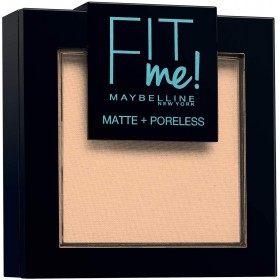 115 Ivoire - Poudre ton sur ton FIT ME ! Matte + Poreless de Maybelline New york Maybelline 6,99€