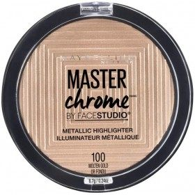 100 Molten Gold - Illuminator Gegenüber Studio-Master-Chrom-Metall-presse / pressemitteilungen Maybelline Maybelline 5,99 €