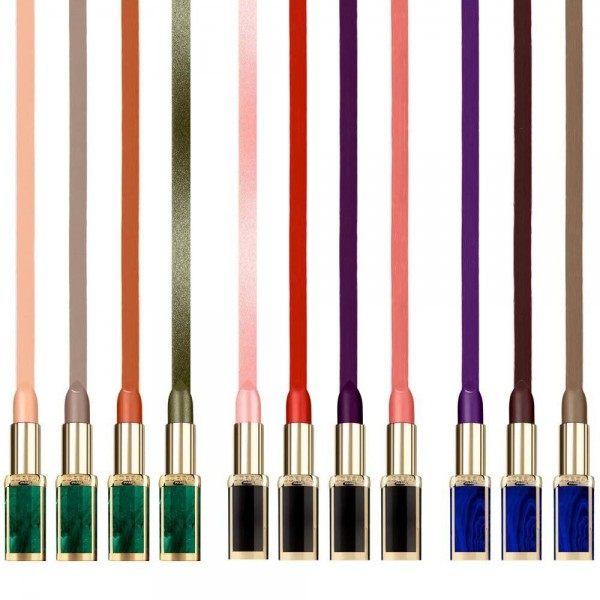 La liberación de Rojo MATTE lip Color Rico BALMAIN L'oréal L'oréal 16,90 €