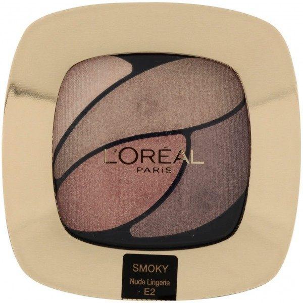 E2 Nude Lingerie - Palette Ombre à Paupières SMOKY Color Riche de L'Oréal Paris L'Oréal 4,99€