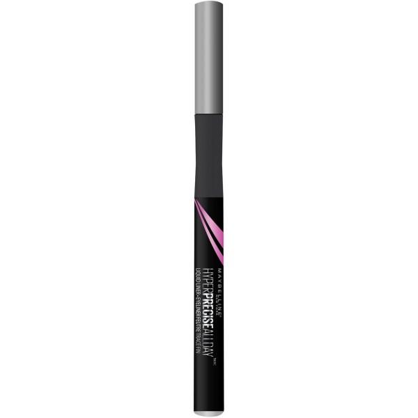 Charcoal Gris - Eyeliner Feutre Hyper Precise Allday ( Tenue 24h ) de Gemey Maybelline Maybelline 3,99€