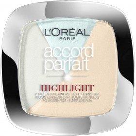 302 Pinkish Glossy - Highlight Illuminator Powder Accord Parfait by L'oréal Paris L'oréal 7,99 €