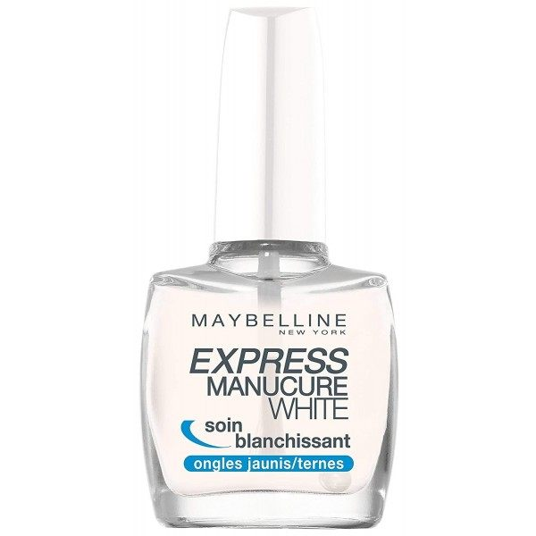 Soin des ongles Blanchissant Express ManucureWHITE de Gemey Maybelline ESSIE 3,99€