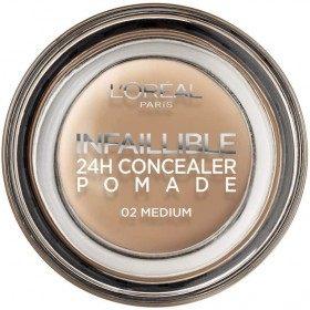 02-Medium - Concealer Cream Infallible 24h by L'oréal Paris L'oréal 4,99 €