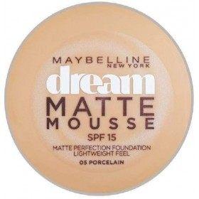 05 Porcelain - Fond de Teint Dream Matte Mousse FPS18 de Gemey Maybelline Maybelline 6,99€
