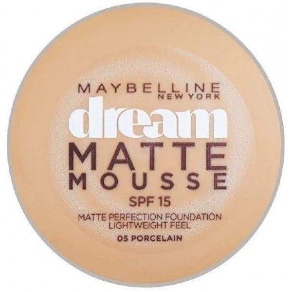 05 Porcelain - Fond de Teint Dream Matte Mousse FPS18 de Gemey Maybelline Maybelline 3,99€