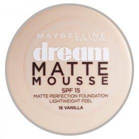 16 Vanilla - Fond de Teint Dream Matte Mousse FPS18 de Gemey Maybelline Maybelline 6,99€