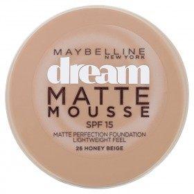 26 Honey Beige - Fond de Teint Dream Matte Mousse FPS18 de Gemey Maybelline Maybelline 6,99€