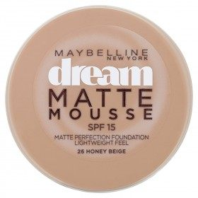 26 Miele Beige - trucco Dream Matte Mousse FPS18 di Gemey Maybelline Maybelline 6,99 €