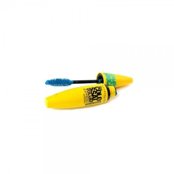 Turquoise Electric - Mascara The Colossal Volum' Express Color Shock Gemey Maybelline Maybelline 4,99€
