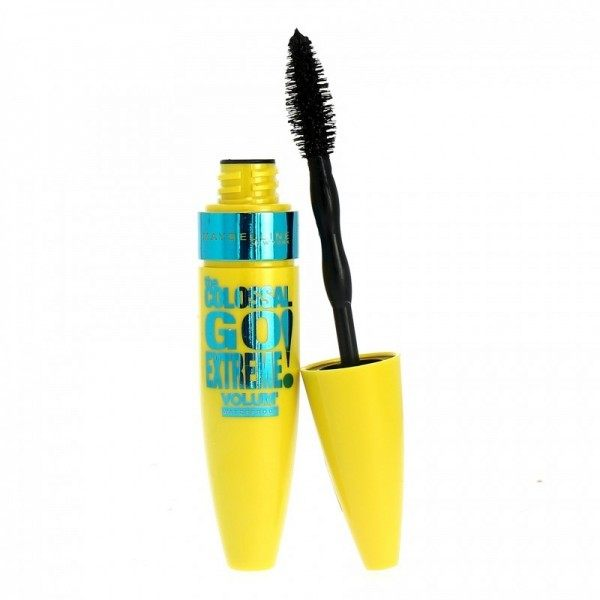 Mascara Waterproof The Colossal Volum' Express Go Extreme Noir Gemey Maybelline Maybelline 4,99 €
