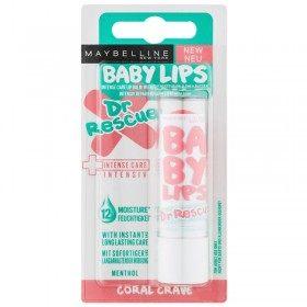 Coral Antoja Menta - Bálsamo labial Hidratante Dr Rescata a las 12pm los Labios del Bebé Gemey Maybelline Maybelline 2,99 €
