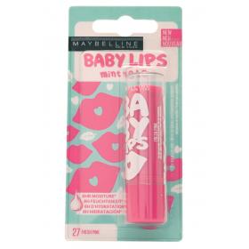 27 Fresh pink - Baume à lèvres Hydratant Baby Lips de Gemey Maybelline Maybelline 2,99€