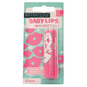 27 Fresh pink - Lippenbalsam-der Feuchtigkeitsspendende Baby Lips von presse / pressemitteilungen Maybelline Maybelline 2,99 €