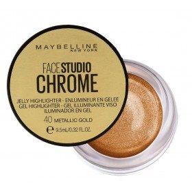 40 Metallic Gold - Resaltador en gel cromo jalea de Gemey Maybelline Maybelline 5.99 €
