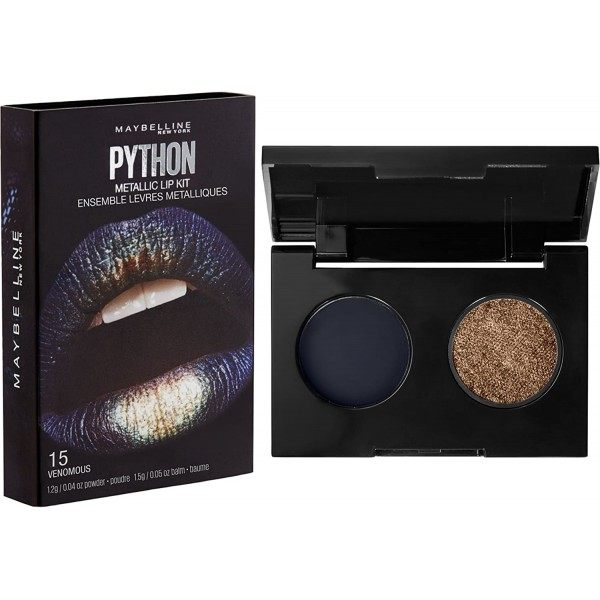 15 Venenoso - Gemey Maybelline Maybelline Metallic Python Lip Kit 3,99 €