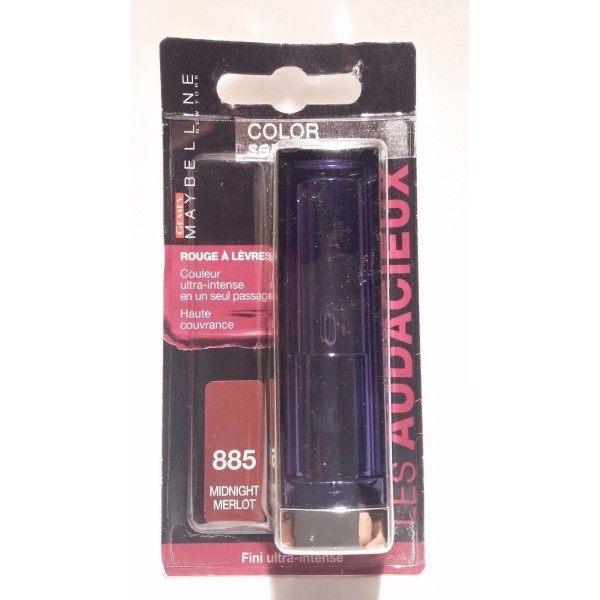 885 Medianoite Merlot - Vermello Cor dos beizos Sensacional Negra Gemey Maybelline Gemey Maybelline 9,60 €
