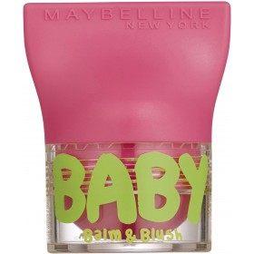 02 Flirty Pink - Baume à Lèvres & Blush BABY LIPS de Gemey Maybelline Maybelline 2,99€