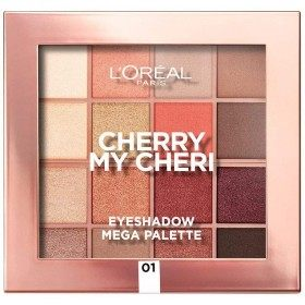 Cherry My Cheri - The L'Oréal Paris L'Oréal Mega Paleta de sombras de ollos 8,99 €