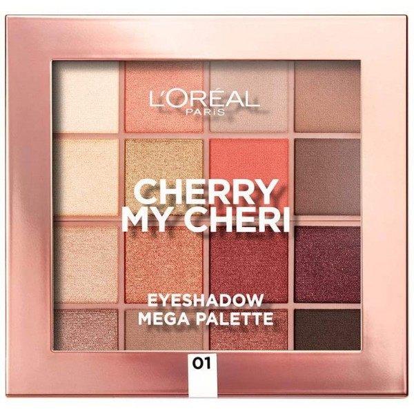 Cherry My Cheri - The L'Oréal Paris L'Oréal Mega Eye Shadow Palette 8.99 €
