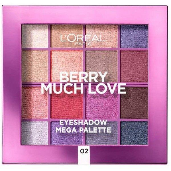 Berry Much Love - La Méga Palette d'Ombres à Paupières de L'Oréal Paris L'Oréal 7,99€
