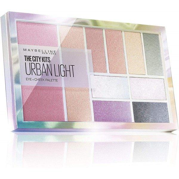 The City Kits Urban Lights - Oogschaduw + Blush Palette van Maybelline New York Maybelline 6,99 €