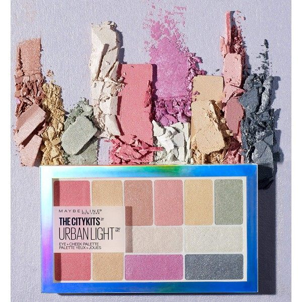 The City Kits Urban Lights - Paleta d'ombres d'ombres + Blush de Maybelline New York Maybelline 6,99 €