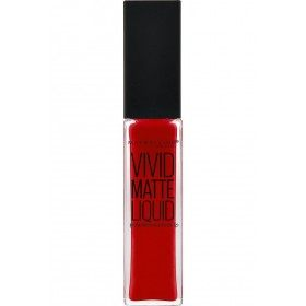 35 Rebel Red - Rouge à lèvre Vivid Matte Liquid Gemey Maybelline Gemey Maybelline 10,90 €