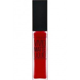 35 Rebelde Rojo - barra de labios Viva Mate Líquido Gemey Maybelline Gemey Maybelline 10,90 €