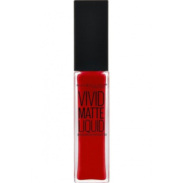35 Rebel Red - lippenstift Vivid Matte Liquid presse / pressemitteilungen Maybelline presse / pressemitteilungen Maybelline